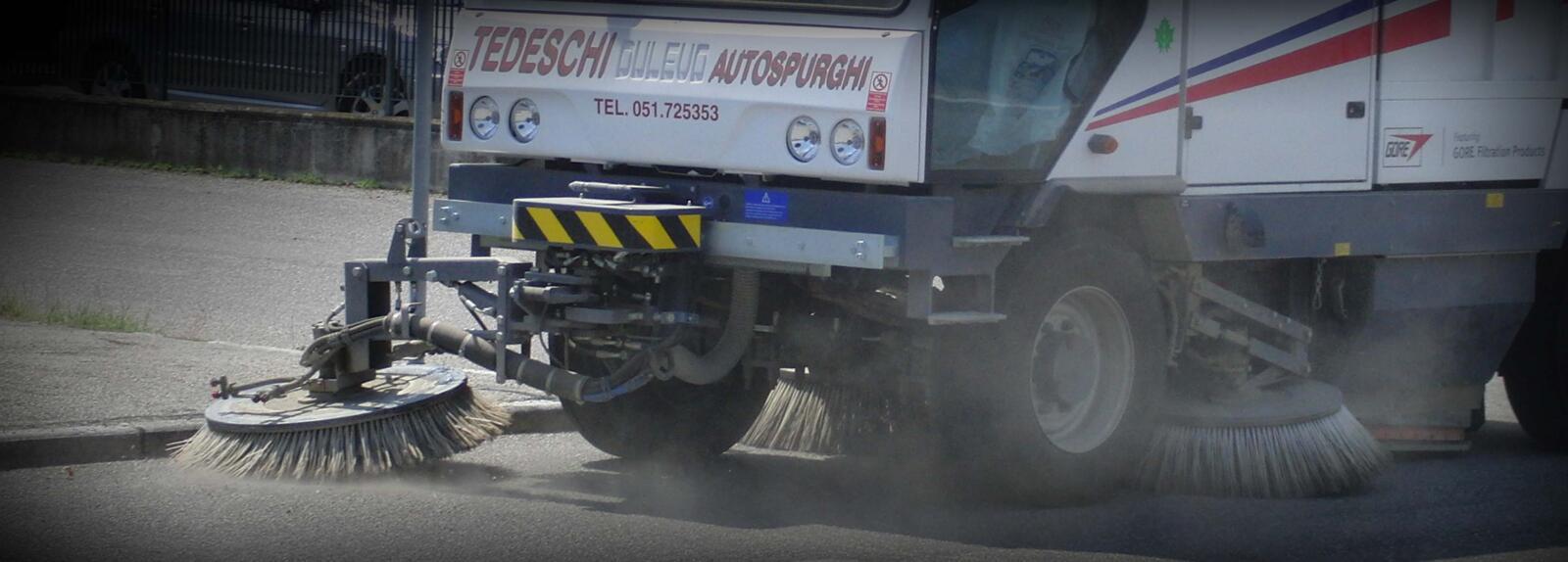 Mezzo spazzatrice per la strada | Tedeschi autospurghi